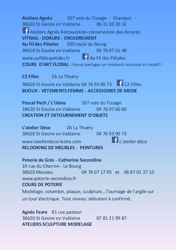 uelv_journée des savoirs faire_flyer verso A5